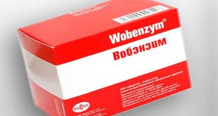 Вобэнзим и алкоголь